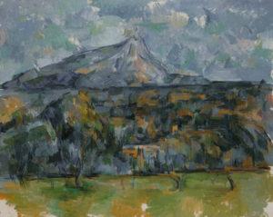 La Montagne Sainte-Victoire vue des Lauves, 1902-1906 65 x 81.3 cm R913-FWN353
