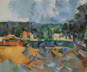 Bords d'une rivière, vers 1904 60.9 x 73.6 cm R920-FWN369