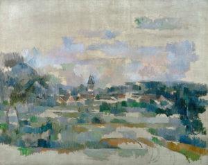La Route tournante (Mennecy), vers 1904 73 x 92 cm R921-FWN374