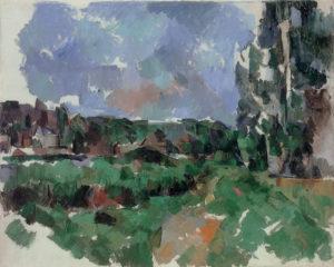 Paysage au bord d'une rivière, vers 1904 65 x 81 cm R922 - FWN371
