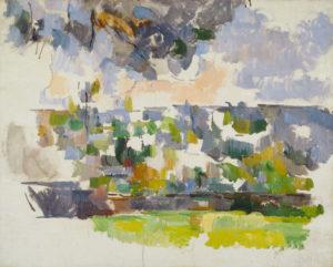 Le Jardin des Lauves, vers 1906 65.5 x 81.3 cm R926-FWN379