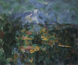 La Montagne Sainte-Victoire vue des Lauves 04-06 60 x 72 cm R931-FWN367