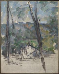 Vue vers la route du Tholonet près du Chateau Noir, 1900-1904 101.1 x 81.3 cm R942-FWN347