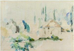 Villa au bord de l'eau I, vers 1888 RW410
