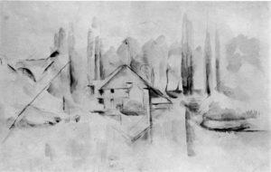 Villa au bord de l'eau II, 1898 (?) RW540