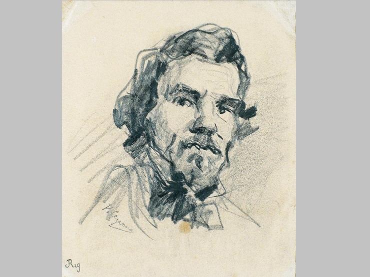 13V C0155 Portrait de Delacroix 64-66