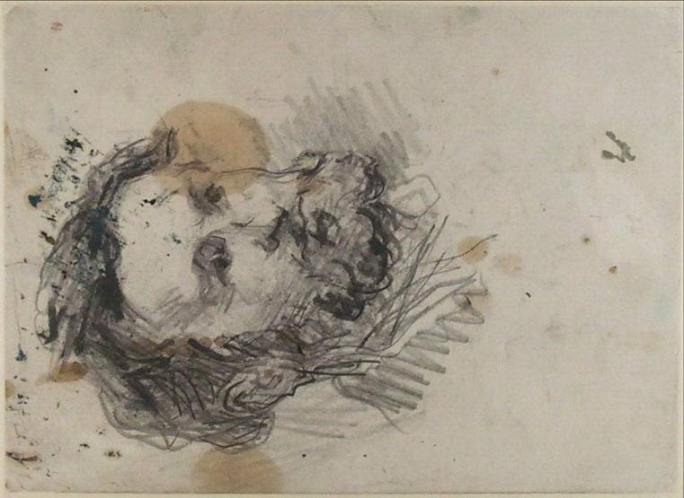 19V C0233 Portrait du peintre Guillaumin 69-72
