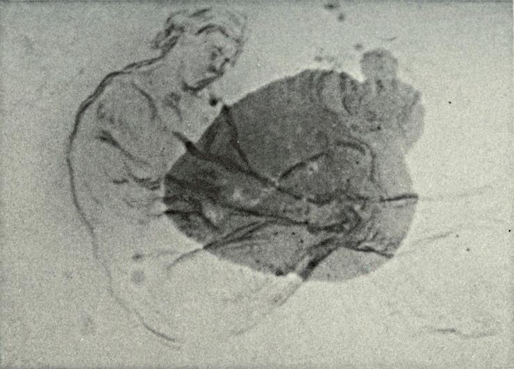 26R C0202 Nu - Femme enfilant son bas 67-69
