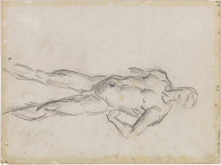 30R C0184 Homme nu, d'après Luca Signorelli 66-69