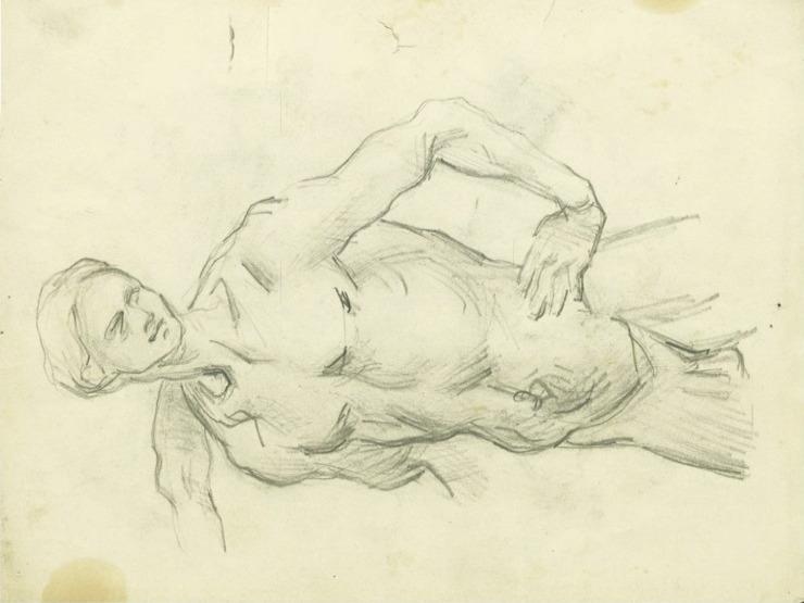 31R C0183 Homme nu, d'après Luca Signorelli 66-69