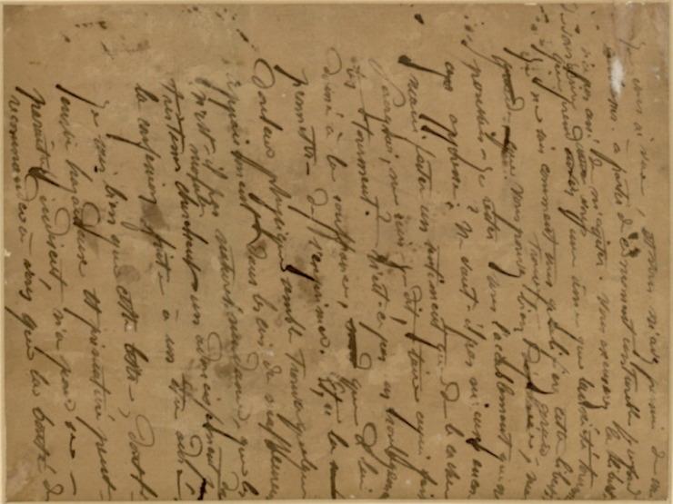 42V NO1885 B brouillon de lettre c85