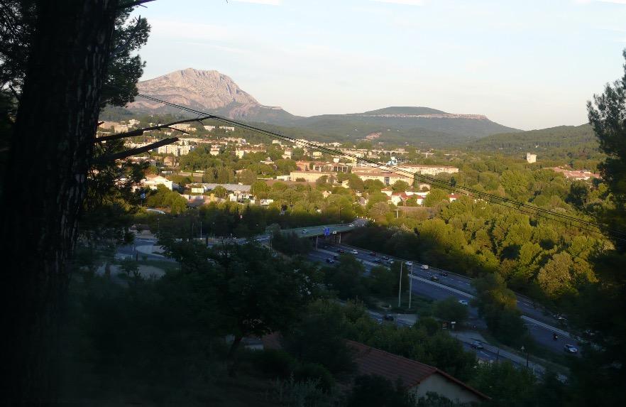La Montagne Sainte-Victoire vue de la colline de Montbriand II, 1882-1885 (R511, FWN185)
