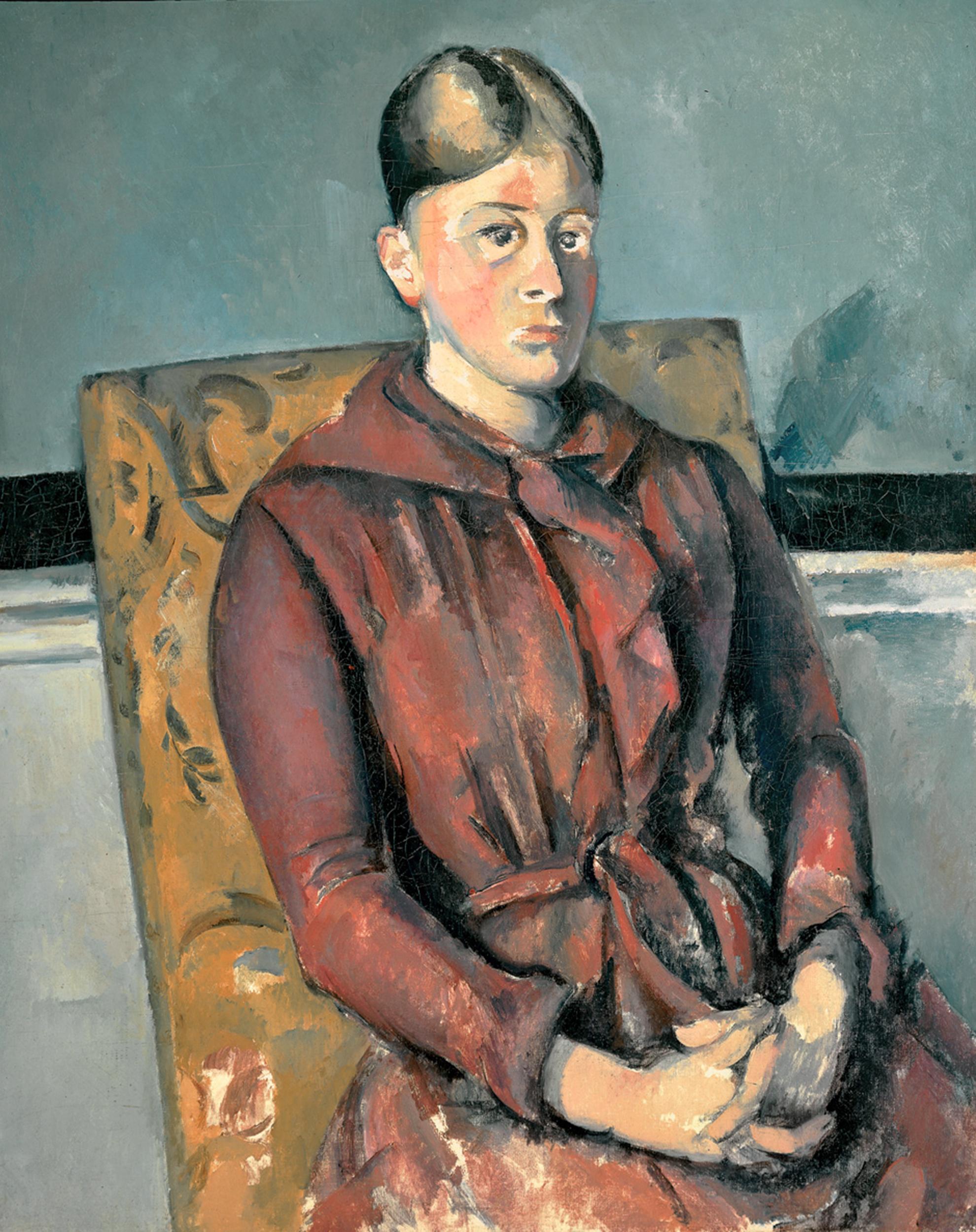 1890r651 Madame Robe 492 En Cezanne À Fwn490 Rouge1888 653 wN0vmn8O