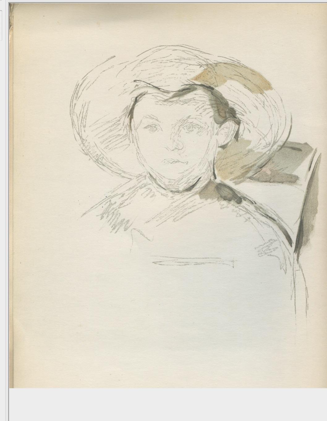 L enfant au chapeau de paille 1896 r813 fwn520 for Assis sur une chaise