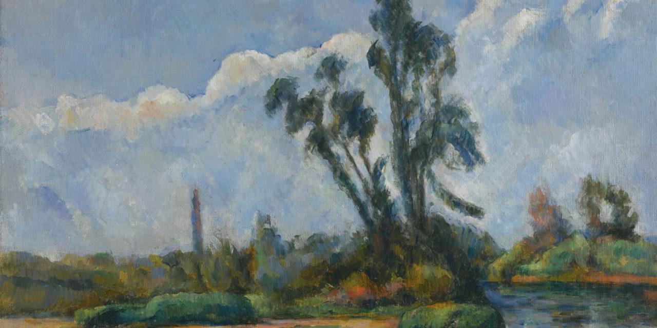 Cezanne sur les bords de Marne
