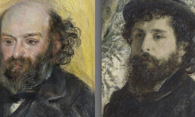 Monet, Cezanne : deux marines – Alain Madeleine-Perdrillat